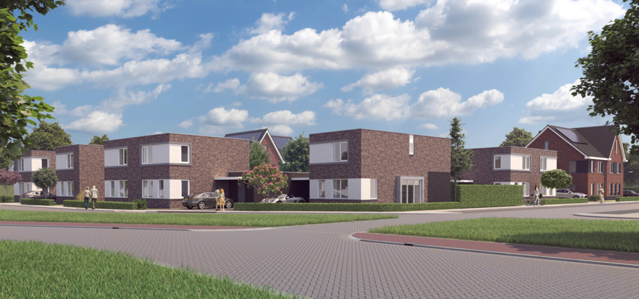 13 woningen plan Westendorp te Kapelle