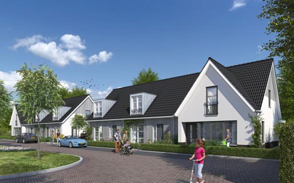 16 hofwoningen Steenbergen